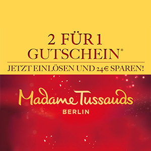 "2 für 1 - Madame Tussauds Berlin ""Dirty Dancing"""